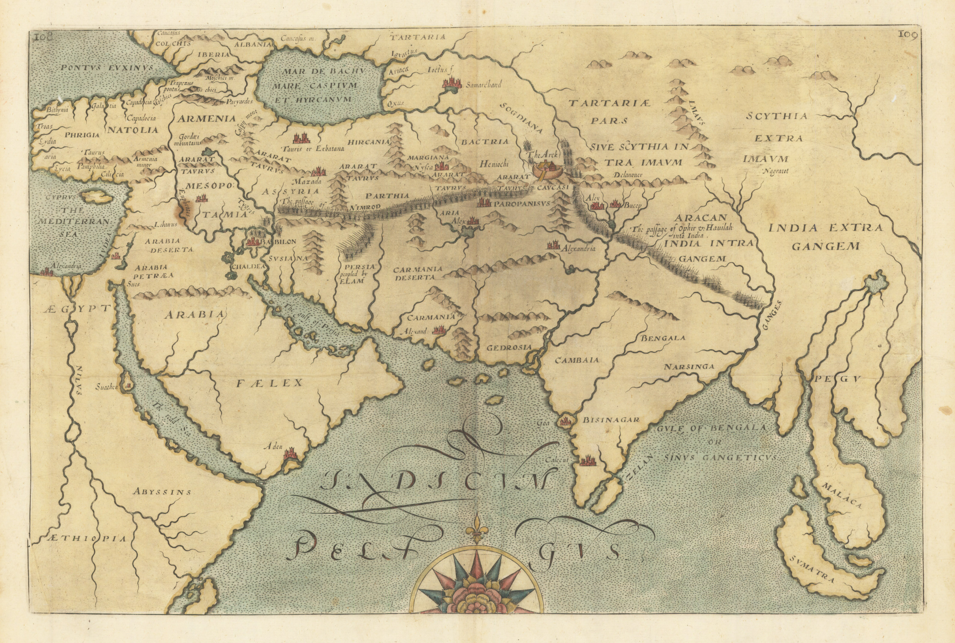 Untitled map of southern asia and the indian ocean hjbmaps high resolution image gumiabroncs Image collections